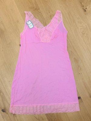 Vintage Negligé roze-lichtroze Viscose