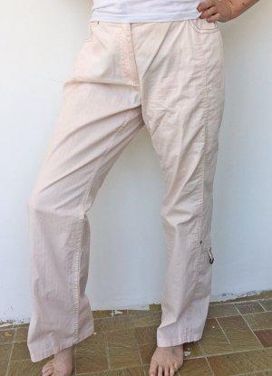 Biba Spodnie 3/4 różany Bawełna