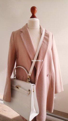 Zara Oversized jas veelkleurig Gemengd weefsel