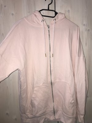 Rosa farbene Kapuzenjacke