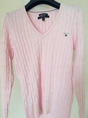 Rosa-farbener Pullover von Gant
