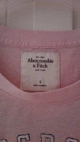 Abercrombie & Fitch Camiseta rosa claro
