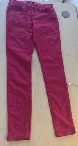 Forever 21 Pantalon cigarette rose fluo
