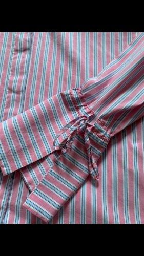 Rosa  gestreifte Bluse