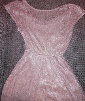 Rosa glitzer Kleid C&A XL