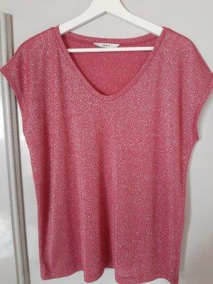 Only T-shirt col en V multicolore