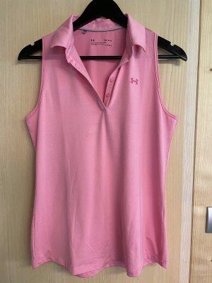 Rosa Golf Polo von Under Armour, Gr. M
