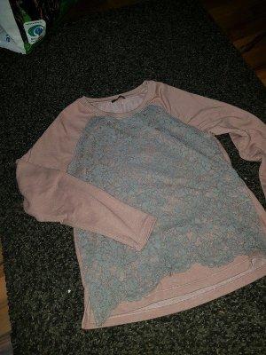 Rosa grauer pulli