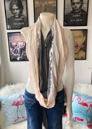 Codello Foulard rose-gris