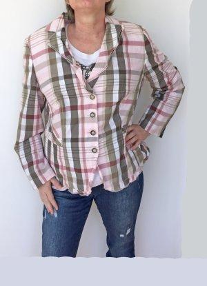 Gerry Weber Blazer corto rosa pallido-cachi Cotone