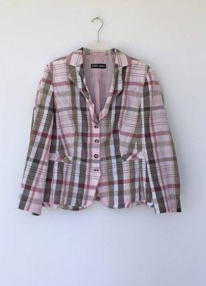 Gerry Weber Short Blazer pink-khaki cotton