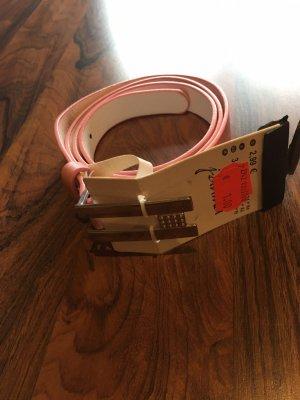Hip Belt silver-colored-pink