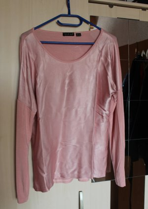 Rosa/hellpinkes Blusen Shirt in Gr. 40/42 von Premium Collection by Esmara.