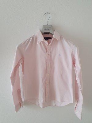 rosa hellrosa rose slim fit 6 Ralph Lauren Golf Bluse Oberteil Top Langarm