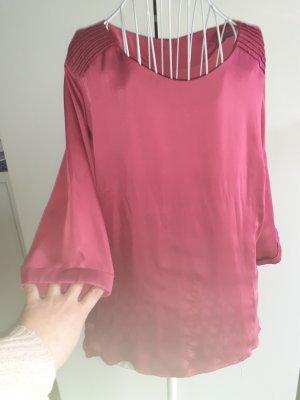 Rosa Hemd mit Buttons am Rücken Gr.42-44