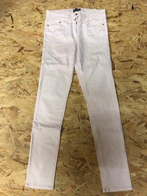 Blue Motion Pantalone a vita bassa rosa pallido