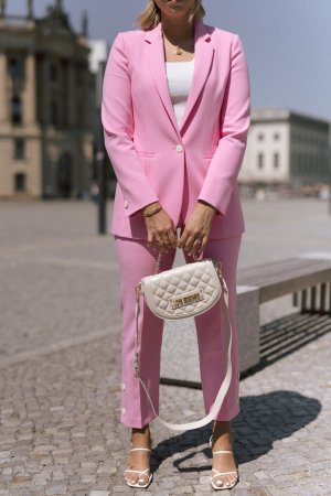 Trouser Suit neon pink-pink