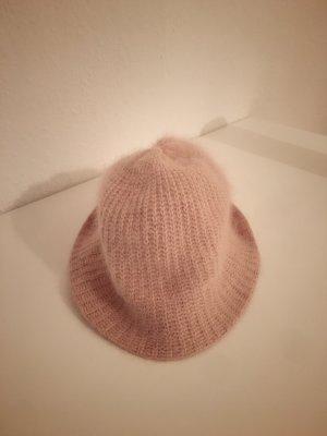 New Yorker Cloche Hat dusky pink-pink
