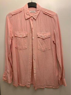 Zara Camisa vaquera rosa-salmón