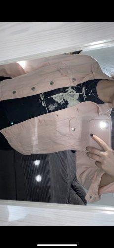 Gina Tricot Denim Jacket pink