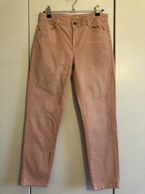Rosa Jeans mit 5/6 Länge