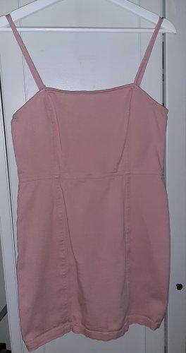 H&M Divided Jeansowa sukienka różany