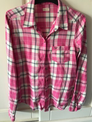 Hollister Houthakkershemd wit-roze