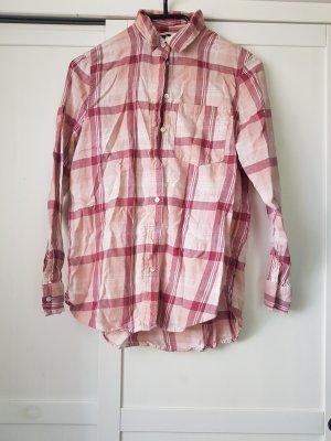 rosa karriertes Hemd