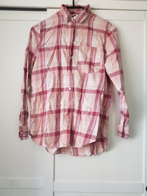 H&M Koszula w kratę biały-różowy