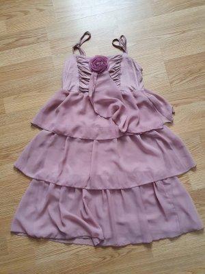 BODY FLIRT Summer Dress rose-gold-coloured-dusky pink