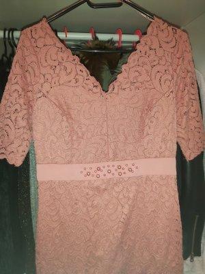 Orsay Vestito peplo color oro rosa