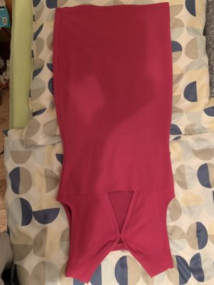 Cut Out Dress raspberry-red-magenta