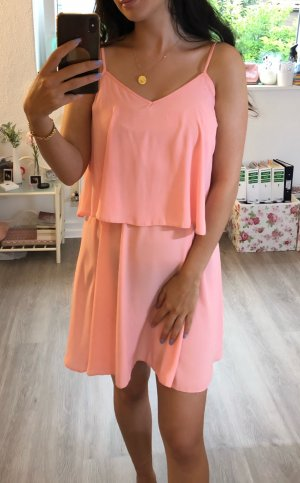 Primark Vestido tipo overol rosa claro Poliéster