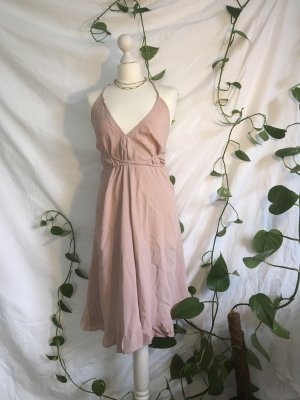Asos Wraparound dusky pink