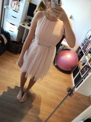 Rosa Kleid mit Glitzer und Tüll