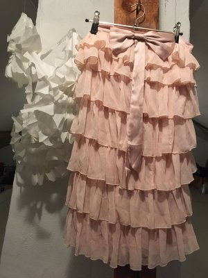 Rosa Kleid mit Schleife