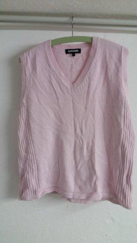 Cassani Sweater met korte mouwen roze
