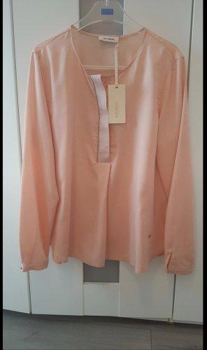 Rosa / Lachsfarbene Bluse