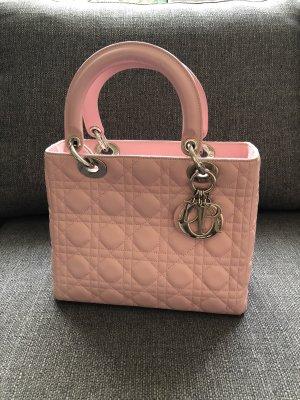 Dior Bolso rosa claro Cuero