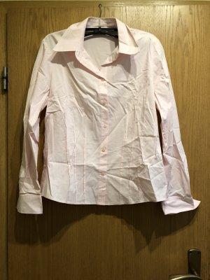 Rosa langärmelige Bluse
