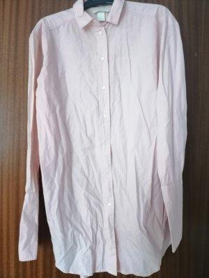 Rosa Langarm Hemd Kleid H & M