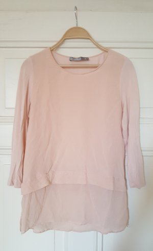 Hallhuber Donna Silk Blouse pink-light pink