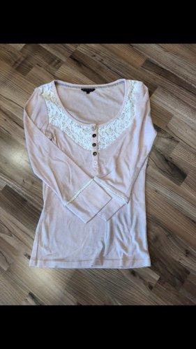 Rosa Langarm Shirt von Review