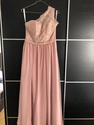 Rosa langes Kleid