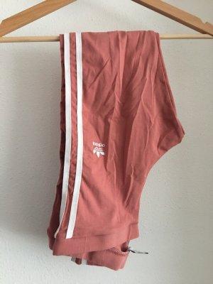 Adidas Legging rose-blanc
