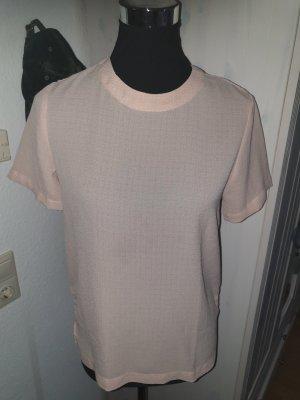 Rosa leicht transparentes neues Shirt