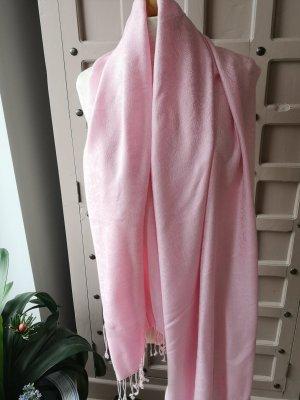 Zomersjaal roze