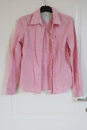 rosa Leinenbluse Tommy Hilfiger