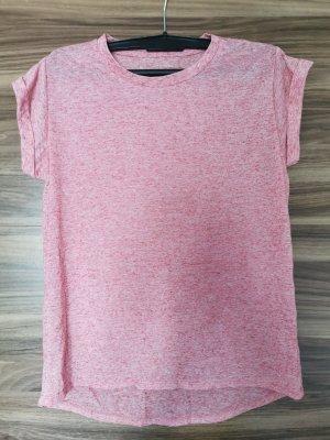 Rosa meliertes Shirt