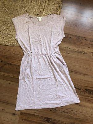 H&M Jersey Dress dusky pink